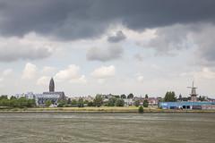 Rotterdam (vk2gwk - Henk T) Tags: rotterdam city sightseeing schiedam maas river side