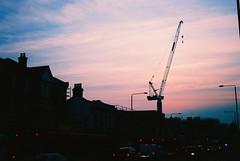 Eltham Crane (Matthew Huntbach) Tags: evening crane eltham se9