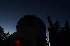 Pointing to the Planets (Wolfram Burner) Tags: sky moon mountain pine night oregon education university science full observatory astrophotography uo physics astronomy burner uofo universityoforegon academics uoregon wolfram pmo
