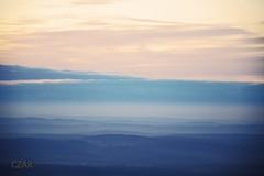 buen camino (czar_fernando) Tags: taunus groser feldberg sonnenuntergang sunset germany deutschland hessen mountain berge wolken clouds