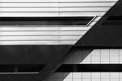 Diagonals (albireo 2006) Tags: blackwhitephotos blackandwhite blackandwhitephotos blackwhite bw malta lifesciencesbuilding architecture