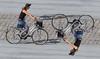mess-up (Seerin Kama) Tags: street people bicycle girl outdoor ngc escheresk escheresque