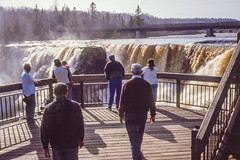 062 1992-05 Kakabeka Falls, ON (crobart) Tags: ontario may slide falls 1992 kodachrome slides kakabeka
