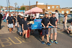 The Oysters Lead the Parade - Whitstable Oyster Festival 2016 (timothyhart) Tags: oyster festival 2016 whitstable kent herne bay thamesestuary england uk tradition tressle