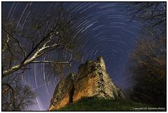ST#28-52 Sutton Valence Castle (seb a.k.a. panq) Tags: 52 52weeks stars trails startrails st sebastianbakajphotography castle old ruins kent