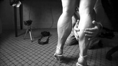 vlcsnap-2016-07-24-21h29m33s163bw (ARDENT PHOTOGRAPHER) Tags: muscular calves woman female flexing