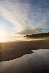 Scott Creek S-Curve (Jesse Bentz) Tags: california landscape sunset scottcreek pacificocean stream sky nature highway1 waves