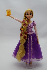2016 Singing Rapunzel 16 Inch Doll - Disney Store Purchase - Deboxed - Standing - Dim Lighting - Full Front View (drj1828) Tags: us disneystore disneyparks singing rapunzel 16inch doll purchase online 2016 deboxed