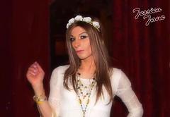 White Flower (jessicajane9) Tags: tv cd lgbt tg trans m2f feminized tgirl transgender transvestite femboi crossdressing
