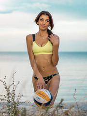 DSC07996 (Tjien) Tags: beach volleyball summer 2016 bfg swimsuit portrait outdoorportrait
