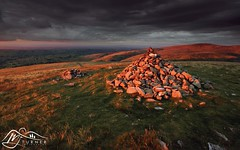High Pike from Brae Fell (M J Turner Photography ) Tags: braefell lakedistrict cumbria england highpike sunset evening dusk hill fell grass stone uldale caldbeck