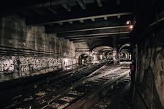 Paris Metro (Nu.Viz) Tags: metro paris abandoned station trespass tunnel lines