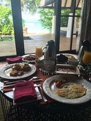Breakfast in the villa (survivingmaldives) Tags: jumeirah vittaveli maldives survivingmaldives