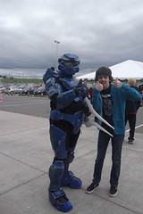 Me and Halo UNSC Spartan (splinky9000) Tags: ottawa comic con 2013 canada ernst young centre cosplay guests unsc spartan halo soldier video game