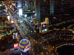 Vegas Nightscape (Mike Docherty) Tags: betting resort gambling lasvegas party city nevada america tourism
