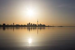 Sunrise Toronto (soonho.yoon1) Tags: toronto canada sunrise cntower