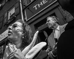 Philadelphia, 2015 (Alan Barr) Tags: street people blackandwhite bw philadelphia monochrome easter mono blackwhite candid streetphotography panasonic sp streetphoto southstreet 2015 gx7