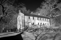 Ellaire State Park Efrareated* (Ackermans Finest Photography~ ( see the Sets+) Tags: park new bw abandoned station train fire coast state east jersey infrared ornate arrest 1825 allair