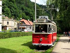 021 - 09-07-25 Bad Schandau Stadtpark Est Tw Lockwitztal 9 - 02 (tramfan239) Tags: bad tram tramway elbe strassenbahn badschandau schandau kirnitzschtal kirnitzsch kirnitzschtalbahn strasenbahn ovps