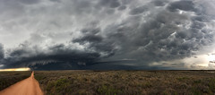 Supercellular Skies (Mike Mezeul II Photography) Tags: sky weather texas atmosphere science panoramic thunderstorm tornado mclean mammatus supercell
