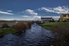 Casa sul fiume (cobram88) Tags: ireland sky panorama colour green canon river ir fiume 35 56 mulino iralanda 1585 700d