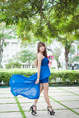 Sherry - AM - 014 (jasonlcs2008) Tags: blue woman sexy girl beautiful fashion lady wonderful pose nice model singapore photoshoot modeling outdoor good sunny sherry tight poses 2015 jasonlcs sherrysiau