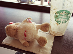 All done... (janetsaw) Tags: animal toy stuffed candy sheep character small plush jolly nici 15cm