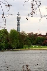 BT Tower from Regents Park (martin christopher-martin) Tags: london regentspark regents telecom postofficetower londonskyline telecomtower