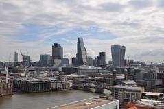 City skyline (stevekeiretsu) Tags: bridge london thames skyline river tower42 cityoflondon 20fs 122lh