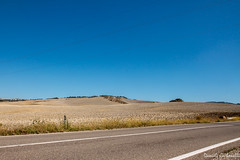 Val d'Orcia - Route SP40 (carbonelli93) Tags: street strada route val tuscany pienza toscana rosso dorcia orcia
