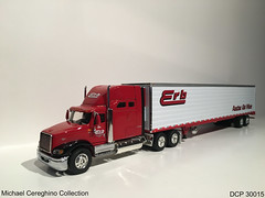 Diecast replica of Erb Transport International 9400i with 53' reefer, DCP 30015 (Michael Cereghino (Avsfan118)) Tags: erb transport transportation diecast die cast promotions promotion dcp 30015 scale model replica toy truck semi 164 9400 9400i ih international