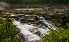 Housatonic-River-Falls (desouto) Tags: flowers sky nature water clouds stream stones lakes waterfalls ponds hdr
