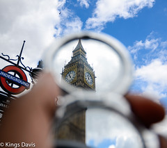 Big Ben 'London through a mirror' (Flip the Script) Tags: big ben clock london tourist time travel underground logo mirror sky outdoors clouds color colour abstract ethereal creative architecture timeout visit holiday
