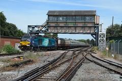 """Direct Rail Services Class 68, 68018 """"Vigilant"""" (37190 """"Dalzell"""") Tags: drs directrailservices revised compassswoosh vossloh valencia cat class68 68018 vigilant retrorailtours thecanterburybelle railtour canterburywest"""