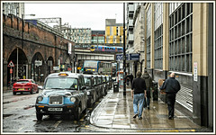 Rank outsiders (david.hayes77) Tags: class185 dmu transpennine manchester 2016 rain taxi taxirank oxfordroadstation whitworthstreetwest northwest urban street city rankoutsider