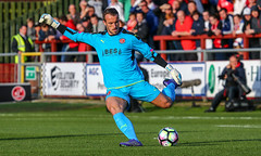 Alex Cairns (Stefan Willoughby) Tags: fleetwood town fc football club pre season liverpool parkside stand lancashire anfield merseyside kop fans supporters pitch ground friendly players soccer