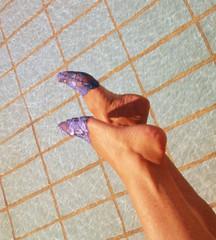 Ps de anjo rendados PDA 9066 (asmocasquecosturam@gmail.com) Tags: feet foot shoe toes highheels lace lingerie footwear heels ps peep salto sandalia alto mules sandalias footsies chinelos renda tamancos lacesocks rendados footlingerie lacepeds