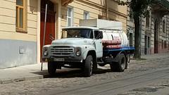 Lviv Ukrain ZIL 130 tanker (ustegen) Tags: truck zil 130 lviv lvov ukrain