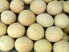 Cantaloupes (Multielvi) Tags: green dragon market ephrata pennsylvania pa lancaster county cantaloupe fruit
