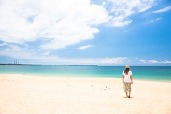 DSC01620 (bluemind9999) Tags: penghu taiwan beach sky blue sand cloud a7r 2470