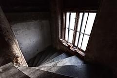 Staircase at Vasagatan 17 Gothenburg Sweden (ingmarjernberg) Tags: trappa staircase fnster window artphoto konstfoto interior interir arkitektur architecture canoneos1dsmark|||