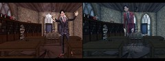 Past and Present (drayton.miles) Tags: doyle managed mischief mm magic mesh deadwool marrison second sl secondlife slytherin hogwarts hufflepuff gryffindor ravenclaw ghost creep hung death died die dying float suit
