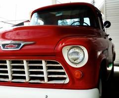 1955 Chevy Truck (e r j k . a m e r j k a) Tags: ohio classic chevrolet 1955 ride pickup chevy kidron us250 erjkprunczyk