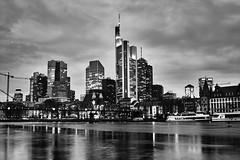 Frankfurt skyline BW (a.bozkurt@ymail.com1) Tags: eu europa eur europe ger germany skyline skyscraper main frankfurtammain frank frankfurt ffm bw black blackandwhite