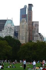 IMG_1326 (Cristian Marchi) Tags: america viaggio trip day7 usa nyc ny centralpark sunday skyline skyscrapers sheep meadow essex house