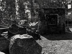 Home sweet home again (qp1977) Tags: 7dwf blackandwhite huaweip9 tetris minecraft blocks stones boulders