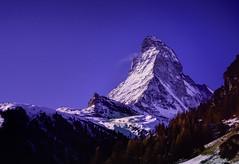 Matterhorn Zermatt (robertdownie) Tags: sky switzerland mountains winter blue europe italy snow swiss mountain alps chocolate zermatt matterhorn valais wallis