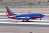 Southwest Airlines Boeing 737 N455WN-2826 (rob-the-org) Tags: kphx phx skyharborinternational phoenixaz southwestairlines boeing 737 n455wn touchdown tiresmoke f80 225mm 1640sec iso100 cropped noflash topaugust2016