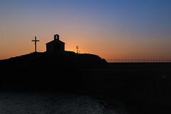 LVM - Un campanario (Nathalie Le Bris) Tags: iglesia church glise collioure backlight contrejour contraluz horaazul heurebleue bluehour sunrise amanecer leverdesoleil