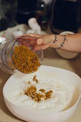 Making Lotus biscuit ice-cream (Paul Jacobson) Tags: food foodphotography gina home icecream kitchen makingicecream process גלידה